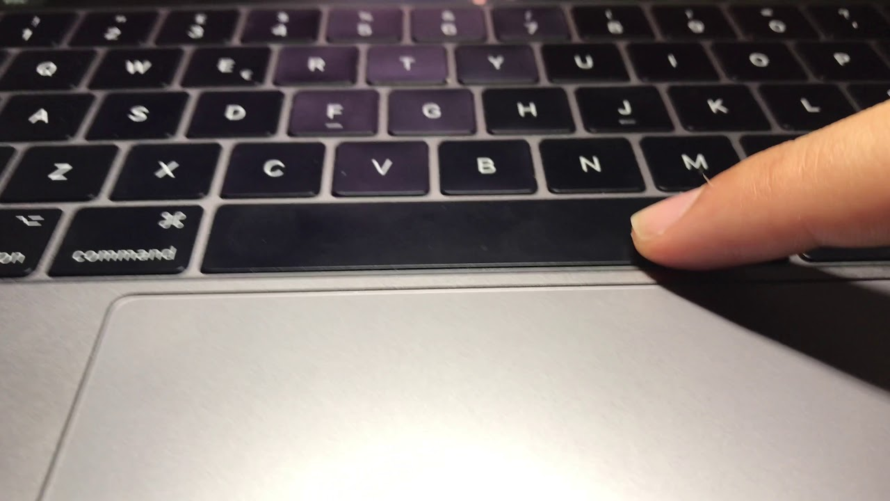how to fix sticky space bar