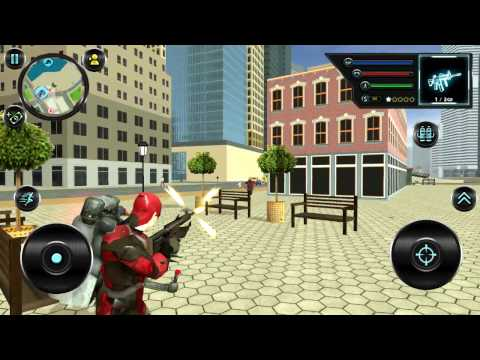 Jetpack Hero Miami Crime | Android Gameplay HD