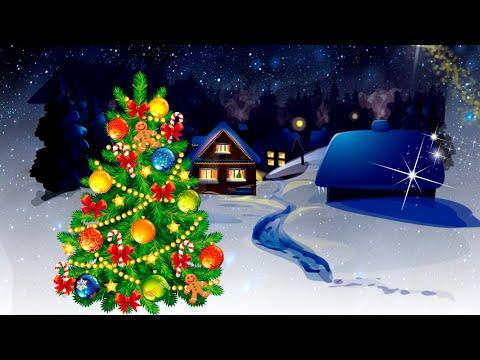 Видео: ❄️ Поздравление с Рождеством! Видео-открытка Рождественское желание!