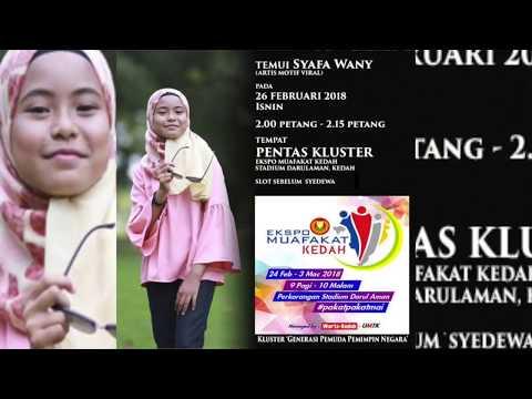 Syafa Wany - Gelora Hatiku (Live Ekspo Muafakat Kedah)