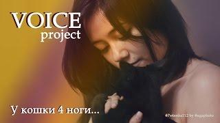У кошки 4 ноги | VOICE project - Детские песни | Pe4enka112