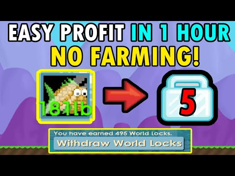 easy-no-farming-profit-in-less-than-1-hour!-best-way-to-profit-with-pineapple-fish-(cotd)|-growtopia