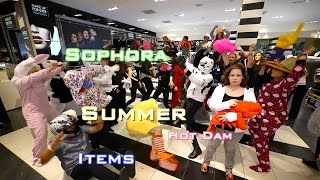 Sephora Summer Hot Dam Itens