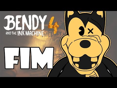 BENDY AND THE INK MACHINE CAPÍTULO 4 #3 - O QUE FIZERAM COM O BORIS?