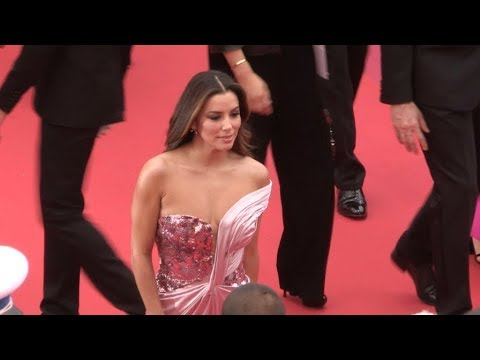 Eva Longoria on the red carpet for the opening ceremony of the 2019 Cannes Film Festival