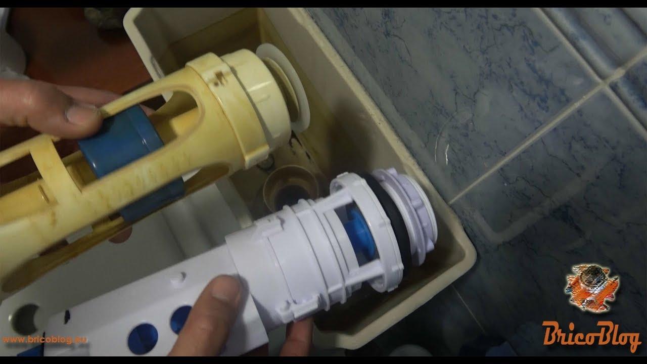 C mo cambiar una cisterna por otra con mecanismo sar for Cambiar mecanismo cisterna