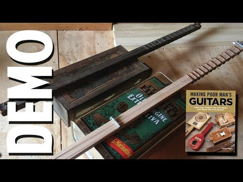 Shane Speal Demonstrates the 2 String Portland Cowboy Tin Can Guitar