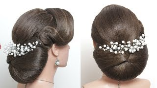 Beautiful Hairstyles for Function: Easy Wedding Updo Hairstyle