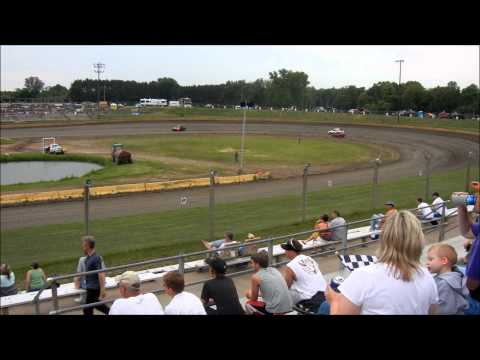 Hornet Heat Race - Cedar Lake Speedway - 7/13/13 - My Debut Race - Part 1