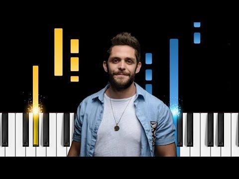 Thomas Rhett - Marry Me - Piano Tutorial / Piano Cover