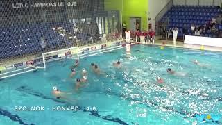 Water-Polo : Championnat de Hongrie 2019-2020 : Szolnok - Honved (Les buts)