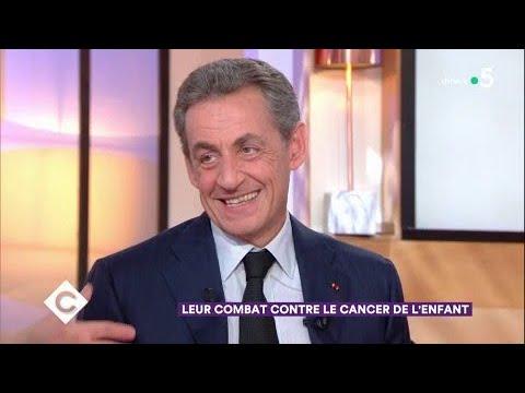 Le combat de Nicolas Sarkozy et Frédéric Lemos - C à Vous - 15/02/2018
