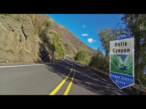 Halfway to Hells Canyon: Oregon's Hells Canyon Scenic Byway Motorcycle Ride