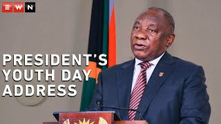 President Cyril Ramaphosa delivered an address in commemoration of Youth Day. Today, Ramaphosa is also participating in an interactive panel discussion with young people as part of the virtual Youth Day celebrations.