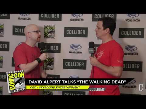 Producer David Alpert on 'Green Valley', 'The Walking Dead', 'Outcast' at Comic-Con