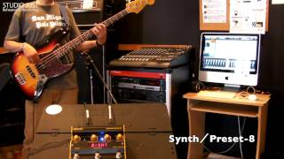 Mark bass SUPER SYNTH Review STUDIO JUST