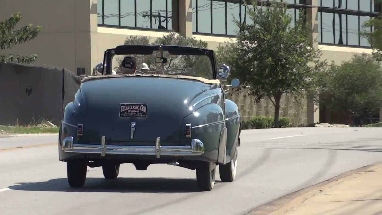 1941 Ford Super Deluxe Convertible Youtube Tudor