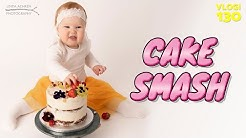 CAKE SMASH KUVAUS | MITÄ TAPAHTUU KUN 1-VUOTIAALLE ANNETAAN SYNTTÄRIKAKKU?