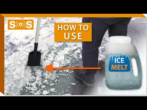 How To Use Ice Melt On Sidewalks | Spec. Sense