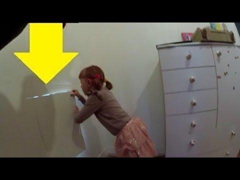 Küçük Kız Evinde Gizli Bir Oda Buldu, Bu Daha da Çılgın Bir Süprize Yol Açtı