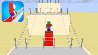 Monster School : BRIDGE RACE 3D CHALLENGE - Minecraft Animation screenshot 5