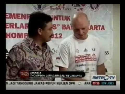 Scott Thompson's BALI-JAKARTA Charity Run - METRO TV - Metro Sport