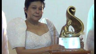 Nora Aunor receives UP Gawad Plaridel award