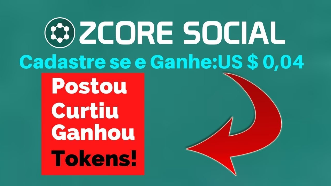 Zcore - social - Nova Rede Social Para Ganhar Dinheiro