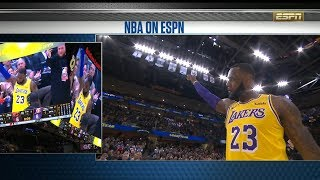 LeBron James Tribute Video by Cleveland Cavaliers | Lakers vs Cavs | November 21, 2018