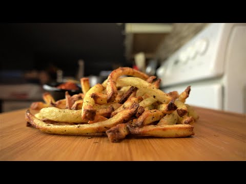 The Best Air Fryer Fries – French Fries In An Air Fryer #shorts