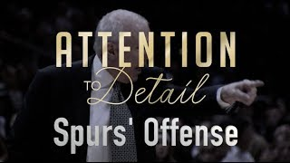 The Secrets to the Spurs' Poetic Offense