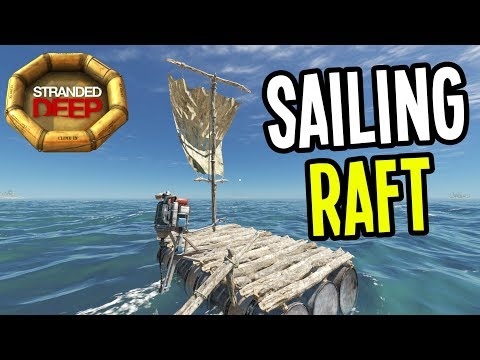 NEW SAILBOAT and GYROCOPTER PARTS - Stranded Deep Gameplay - Episode 12