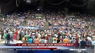 FULL EVENT: Donald Trump Holds Rally in Jackson, MS 8/24/16 by : Right Side Broadcasting