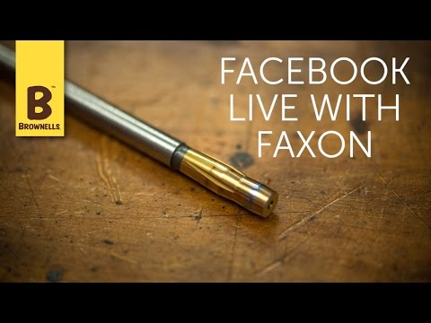 Facebook Live: Barrel Manufacturing with Faxon Firearms