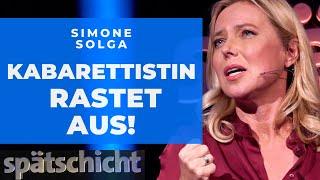 Höcke, Künast, Meinungsfreiheit: Simone Solga rastet aus! | SWR Spätschicht