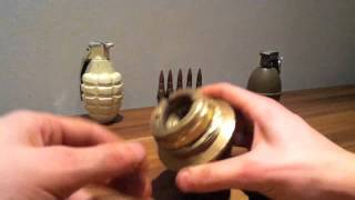 ww1 German HZ 14 artillery shell fuse