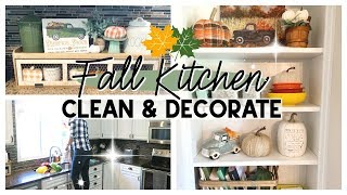 FALL CLEAN & DECORATE 2019 | FARMHOUSE FALL KITCHEN DECOR