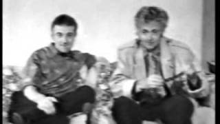 John Deacon and Roger Taylor - Queen Convention Messages 1987