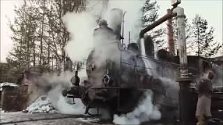 Клип про спасение паровоза в фильме