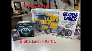 1/14 Tamiya RC Globe Liner Build for Novices - Part 1