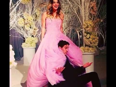 The Big Bang Theory : Kaley Cuoco WEDDING PICS    Shows Ring (PICS ...
