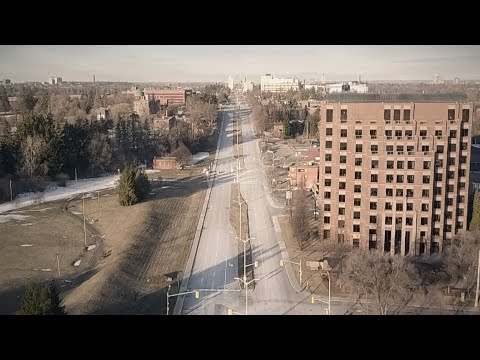 Empty Ottawa Drone Streetview [April 2020 Quarantine Edition