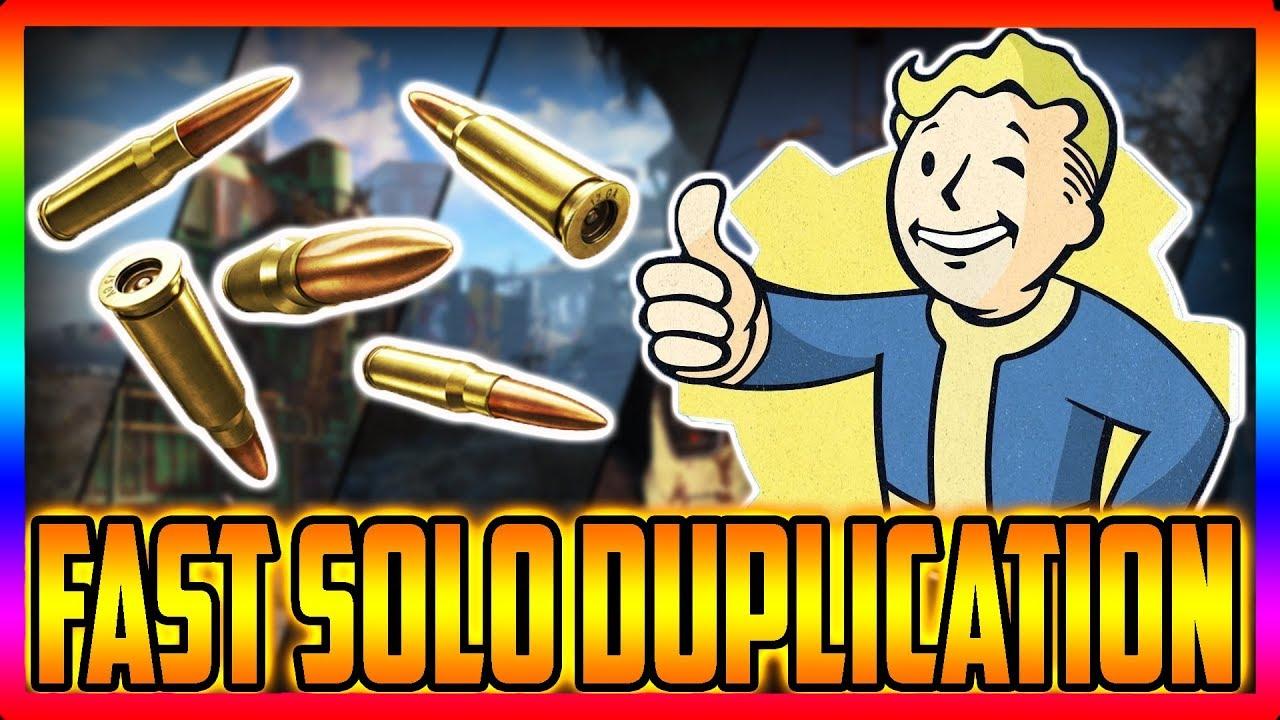 Fallout 76 Fast solo Duplication Glitch Location!