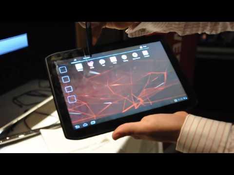 Motorola Xoom 2 demo