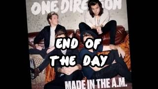 One Direction End Of The Day Lyrics