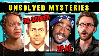 Adults React To Unsolved Mysteries D B Cooper Bigfoot Tupac Shakur MP3