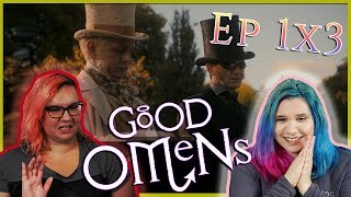 Good Omens 1x3 Reaction \