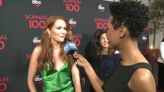 Darby Stanchfield and the importance of 100 episodes