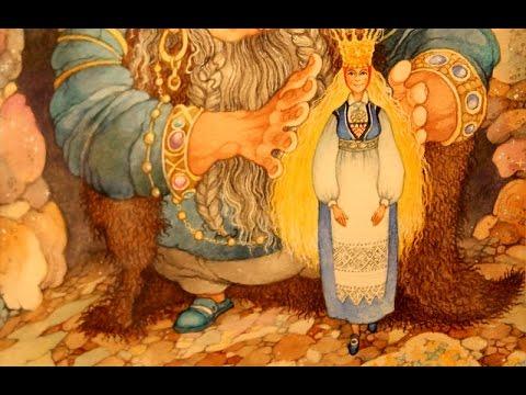 Выставка иллюстраций к норвежским сказкам