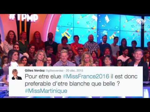 Miss France 2016 tpmp  Touche pas à mon poste clash avec Enora Malagré